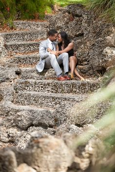 Scenic Engagement Session in Miami -repinned from http://L2weddingphotography.com   #weddingphotographer