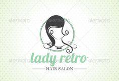 vintage hairdressers logos - Buscar con Google