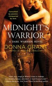Midnight's Warrior by Donna Grant - Book 4 in the Dark Warrior series.