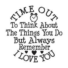 POCHOIR enfant/Kid ** temps de penser à...Je t'aime ** 9 « x 9 » ronde pour peinture chaises, tabourets, bancs, panneaux, Airbrush, artisanat