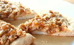 Pour le dessert, le petit déjeuner ou le dîner, le beurre de cacahuète s'invite à tous les repas. Focus : la pizza au beurre de cacahuètes  © chocolatewithgrace