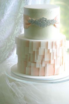 Wafer paper design cake