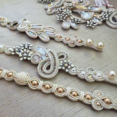 Soutache Bracelet, Soutache Jewelry, Boho Jewelry, Bridal Jewelry, Beaded Jewelry, Jewelery, Beaded Necklace, Soutache Tutorial, Embroidery Bracelets