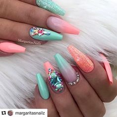 Amazing Holiday Nail Art Designs Ideas For You - Summer Nails Colors