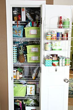We are finally done with our week long pantry project, and I am over the moon warm and fuzzy about the end results!   Our pantry wasn't awfu...