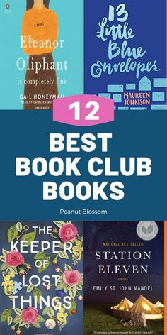The Peanut Blossom Book Club is the best online book club for busy moms. These 12 book club picks are perfect for readers who want fun books to read with their club and avoid heavy tearjerkers. Best Book Club Books, Best Books List, Great Books To Read, Good Books, Book Lists, Book Club Parties, Peanut Blossoms, Online Book Club, Feminist Books