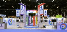 Exhibitor: Sonoco Products Co. System: Skyline Exhibits Design: Skyline Exhibits Fabrication: Skyline Exhibits Photo: Pack Expo Services