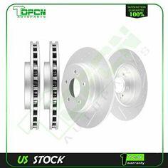For 2006-2008 Volkswagen Passat Front Rear eLine Drill Slot Brake Rotors