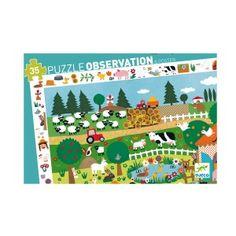 Puzzle observation La ferme 35 pièces