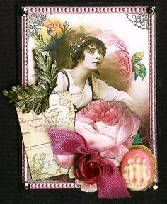 Nostalgic Collage': ATC - Gypsy Spring