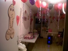 Decoración de globos para despedida de soltera - Imagui