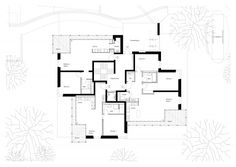 Mehrfamilienhaus Aarau - Burkard Meyer Architekten Baden Architekten Baden Floor Plans, How To Plan, Architects, Bathing, Homes, Floor Plan Drawing, House Floor Plans