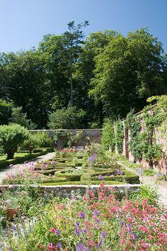 Llanerchaeron Gardens (NT) Carmarthenshire, Wales