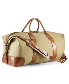 Polo Ralph Lauren Bag, Core Canvas Duffle Bag