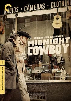 """Midnight Cowboy"" (1969) dir. John Schlesinger. A naive male prostitute (Jon Voight) and his sickly friend (Dustin Hoffman) struggle to survive on the streets of New York City. Midnight Cowboy, The Image Movie, Hd Streaming, Movies Online, Watches, Movie Posters, Wristwatches, Popcorn Posters, Film Posters"