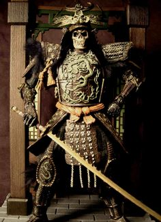 skeleton samurai