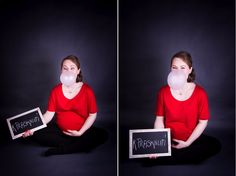 #maternity #studio #photography #bubble #gum