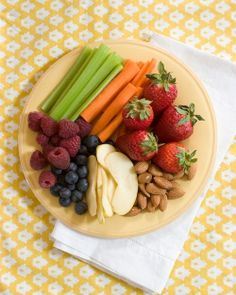 healthy food ideas | ... ? Cute, tasty and healthy. I'm sure you'll be a popular host #health #food #healthyfood
