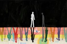 A young man going blind meets an ambassador from a distant land in this Op-Ed.  (Illustration: Dadu Shin)