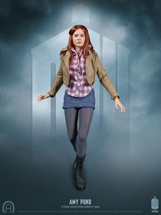 Amy Pond Series 6 1:6 Scale Figures