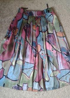 Kup mój przedmiot na #vintedpl http://www.vinted.pl/damska-odziez/spodnice/3285706-piekna-kolorowa-spodnica-na-talie
