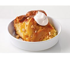 Warm Caramel Apple Pudding Cake