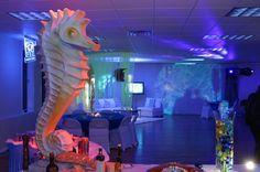Under the Sea theme- blue lighting important