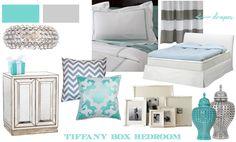 A Tiffany Box Bedroom Box Bedroom, Girls Bedroom, Bedroom Decor, Bedroom Ideas, Master Bedroom, Blue Bedrooms, Guest Bedrooms, Bedroom Inspiration, Bed Room