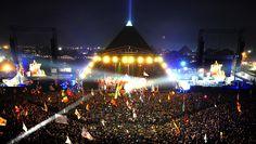 Pyramid stage, Glasto