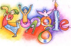 The 14 Best Google Doodles By Idian Students Images On Pinterest