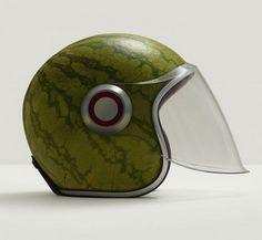Melon helmet.  A Matter of Taste - Fulvio Bonavia