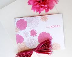 free printable for mother's day, plus a great last minute gift idea