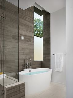 One dark wall tiled bathroom