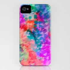 Rainbow Leopard iPhone Case - Amy Sia