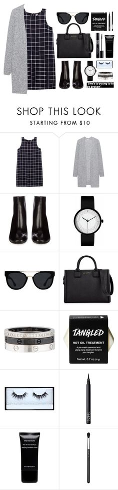 """N ▪ Y ▪ F ▪ W"" by m-phil ❤ liked on Polyvore featuring Olive + Oak, Acne Studios, Quay, Karl Lagerfeld, Cartier, Christian Dior, Huda Beauty, NARS Cosmetics, Givenchy and MAC Cosmetics"