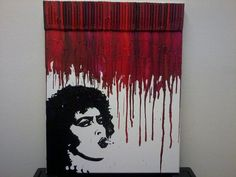 Hey, I found this really awesome Etsy listing at http://www.etsy.com/listing/150259123/rocky-horror-picture-show-melted-crayon