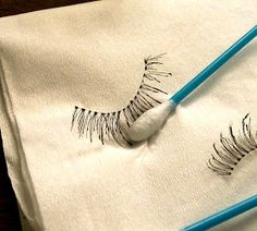 Beauty Broadcast: Caring for Your False Eyelashes ⋆ Pinitopin CLUB All Things Beauty, Beauty Make Up, Diy Beauty, Beauty Hacks, Beauty Tips, Beauty Ideas, Fake Eyelashes, False Lashes, Artificial Eyelashes