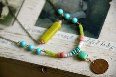 Josephine. bohemian multi chain colorful beaded by tiedupmemories, $56.00