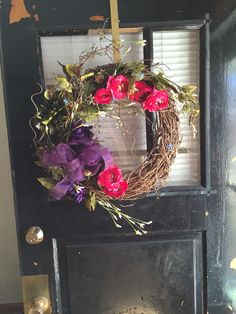 Spring wreath for my daughter Caleigh