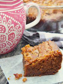 Grain-free Peanut Butter Pumpkin Brownies via @labride