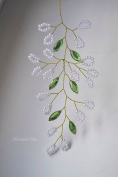Die Wand - Wedding and Special Occasion Jewellery - Beaded Flowers Patterns, French Beaded Flowers, Wire Flowers, Beading Patterns, Beaded Crafts, Beaded Ornaments, Wire Crafts, Jewelry Crafts, Beading Projects