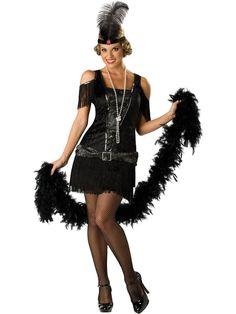 flapper dresses | ... Costumes >> Flapper Costumes >> Fabulous Flapper Dress Adult Costume