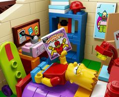 Bart Simpson Lego