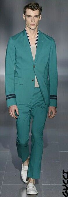#Men's wear  Gucci  Spring Summer 2014 #Moda Hombre