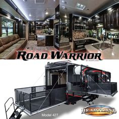 Toy Hauler Trailers, Toy Hauler Camper, Toy Hauler Travel Trailer, Cargo Trailer Camper, Truck Tent, Truck Bed Camper, Luxury Rv Living, Fifth Wheel Toy Haulers, 5th Wheel Rv