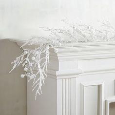 White Beaded Garland