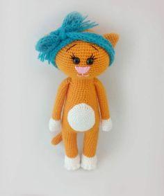 Amigurumi free crochet cat patterns