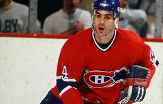Chris Chelios played 402 games with the Montreal Canadiens. Visit page View image Hockey Teams, Ice Hockey, Hockey Stuff, Montreal Canadiens, Chris Chelios, Hockey Hall Of Fame, Hockey Season, Nfl Fans, Team Player