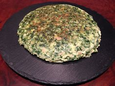 Tortilla de atún y espinacas