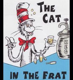 Cat in the frat dr Seuss